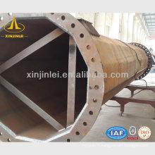 Poteaux de puissance en acier galvanisé