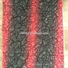tela Quilting, 100% poliéster tejido bordado de diseño para abrigo