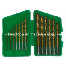 13PCS HSS Twist Drill Bits Set mit Kunststoffpaket