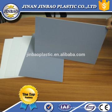 Дюймовый Размер 48x96 мм 1220x2440 мм 3 мм 5 мм 8 мм Твердый лист PVC смолаы