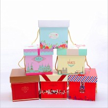 Europe style for Paper Box Packaging Wrapped Craft Paper Gift Box export to Tonga Manufacturers