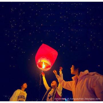 Lanterna do céu personalizado