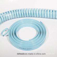 Bandas de desgaste de vedação hidráulica para vedantes de cilindro com carga pesada