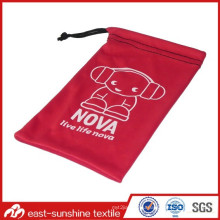 Customized Printed Small Drawstring Eyewear Pouches
