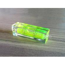 Bloque los frascos cuadrados del nivel de la burbuja, HD-YT1852