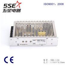 Fonte de alimentação do tamanho de 5ms-120-15 120W 15V 8A mini