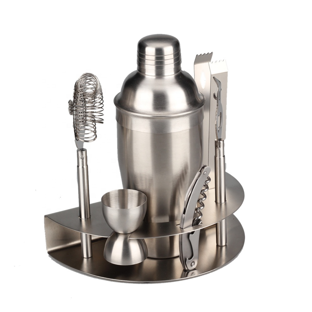 Professional Bar Tools Set Cocktail Shaker Set
