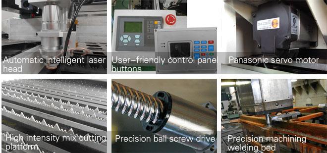 laser machine details