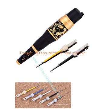 Dragon tattoo agulhas permanentes de maquina de maquiagem