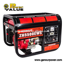 4.4kw Brushless Einphasen-Benzin-Generatoren