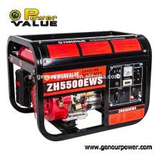 4.4kw Brushless Single Phase Fuel Gasoline Generators
