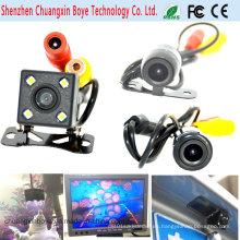 Univesal HD impermeable Mini cámara de coche de inversión para la vista frontal / Vista trasera impermeable