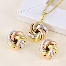 Xuping Fashion Multi-Color Jewelry Set