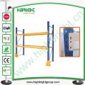 Sistema de paletização resistente para soluções de armazenamento em armazéns industriais