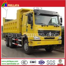 6 * 4 HOWO Sinotruk Dump Truck à vendre (modèle facultatif)