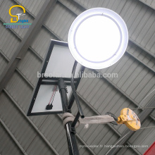 Appliqué dans plus de 50 pays 5 ans de garantie se tiennent le long de la barrière de prix bon marché post lampes solaires
