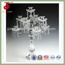 Castiçal para Material Cristal Jd-Ca-305