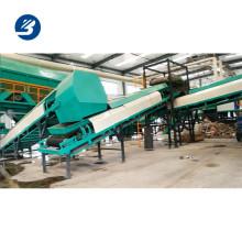 Automatische Abfallverwertungslinie, die Abfallmüllsortierlinie sortiert