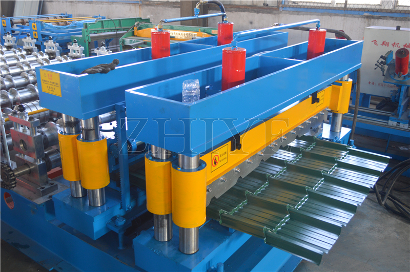 Glazed Tile Roof Machine