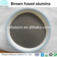 Fiable fournisseur F16-F220 brun oxyde d'aluminium prix pour le sablage
