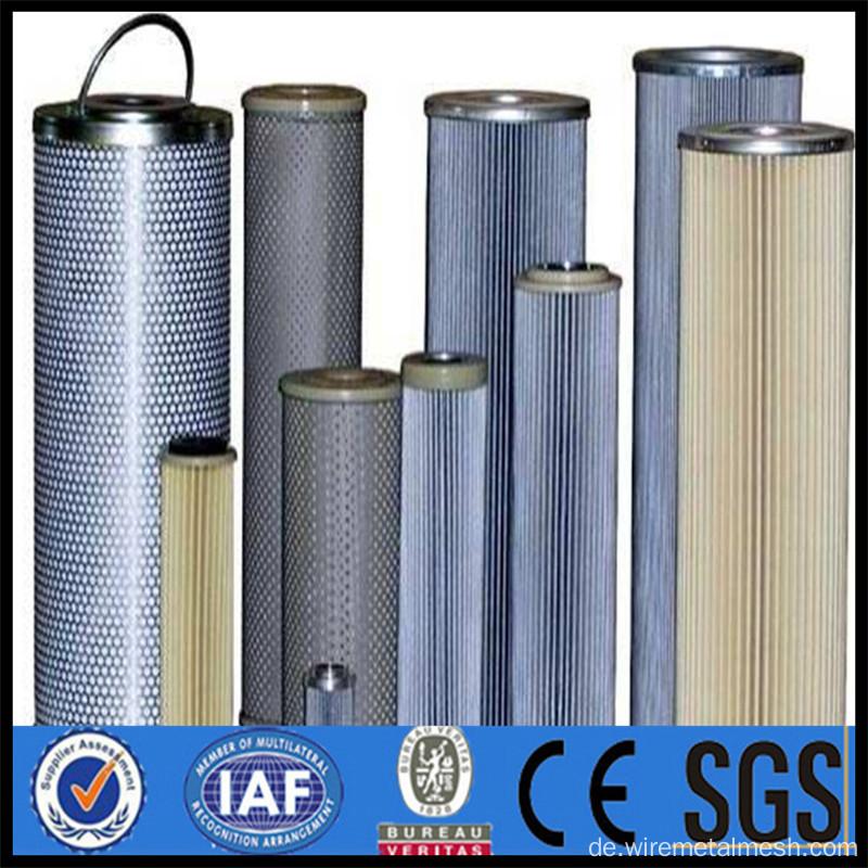 China 2017 Edelstahl Drahtgeflecht Zylinder Filter Hersteller