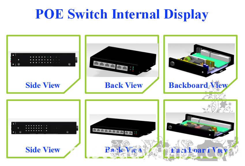 8 port poe gigabit switch