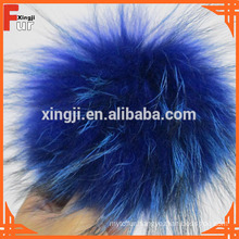 12cm -18cm different sizes Raccoon Fur Pom Pom