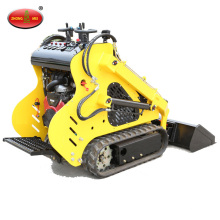 Multifunctional sliding loader mini crawler loader