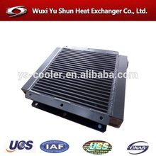 plant custom made aluminum evaporator cooler
