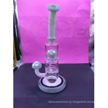 8 Percolators de vidro da tubulação de fumo da polegada com cor diferente