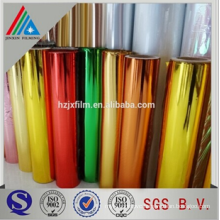 Decorative Mylar with Metallized PET Film