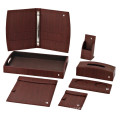 Durable Guestroom PU Leather Product Series for Hotel and Restaurant, Customized Logo