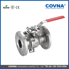 1 inch 2 pc Stainless steel 304/316 Manual Flange type wafer Ball Valve