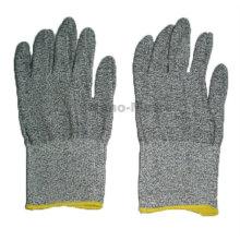 NMSAFETY grau taktische Handschuhe anti cut Industriearbeit Handschuh