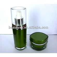 Bouteille de lotion acrylique en forme d'oeil