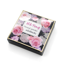 Caixa de presente de papel por atacado Caixa de vela de Natal