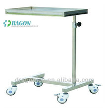 DW-HE014 Stainless steel medical mayo table medical equipment