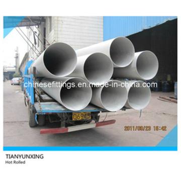 Tubos laminados en caliente / laminadores redondos de acero inoxidable Asme