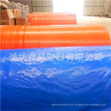 Material de lona 160GSM PE y lona para acolchado y lona de PE en rollo