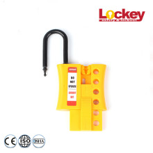 Leading for Nylon Lock Out Tag Out Hasp 4 Hole Insulated Locker Hasp Tagout supply to Estonia Factories
