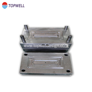 Punched machined plastic molding