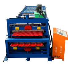 Hebei Xinnuo XN-1000-1000 Double Layers Roll Forming Machine