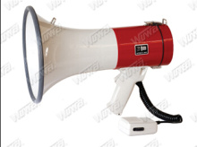 ABS Police Handhold Megaphone Wh-50