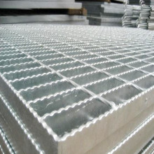 Galvaniserad Serrated Steel Bar Grid