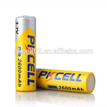 bateria recarregável da bateria 18600mAh 3.7V do lítio-íon 18650