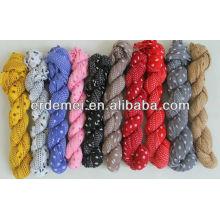 Écharpe 2014 printemps dame pashmina / écharpe colorée