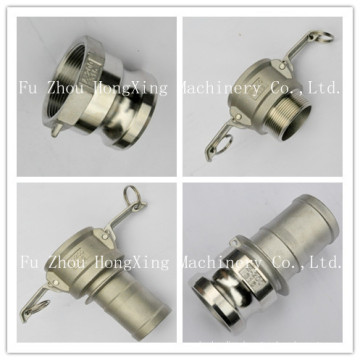 Stainless steel 316 camlock adapter for male and female
