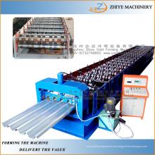 Wand- und Dachstahlherstellung Dachprofil Fliese Kaltwalzformmaschine