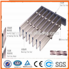 Hot dipped galvanized Low price and high quality steel grating (anping )