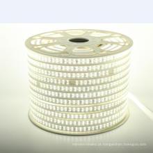 O smd alto do brilho 2835 conduziu a luz de tira 110V / 220V impermeáveis